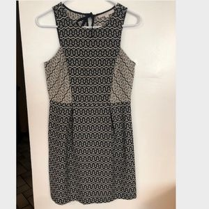 LOFT Multi-Patterned Dress